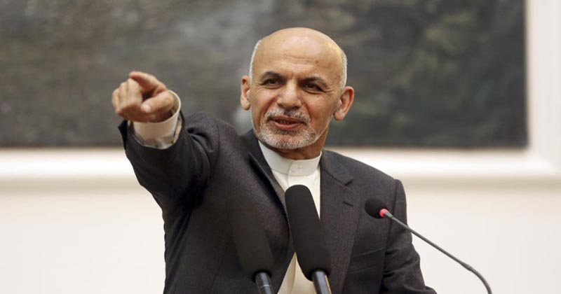 afghan president ashraf ghani pakistan as terror sanctuary