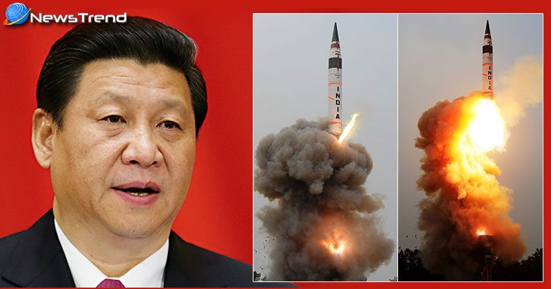 """Photo of 'अग्नि-5' मिसाइल के डरा चीन! कहा – हम तो """"पार्टनर"""" हैं!"""