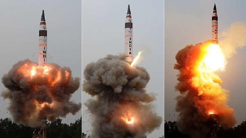 Agni 5 missile test