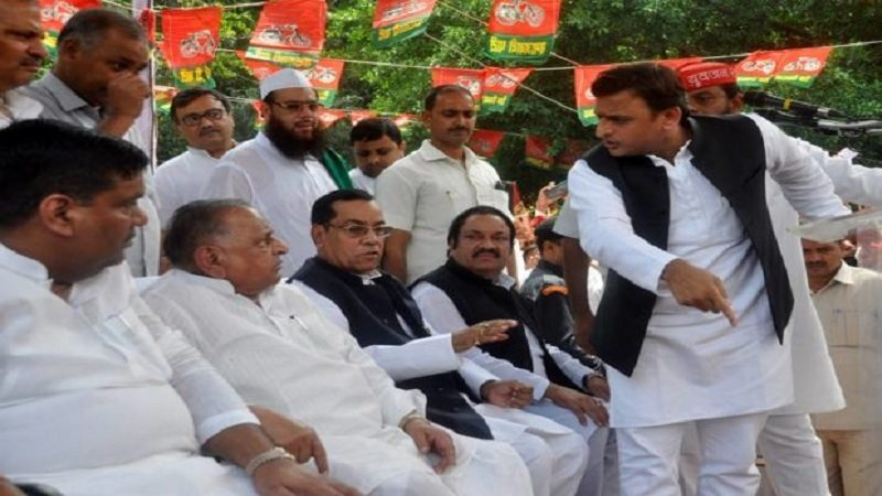 Akhilesh yadav sacked from SP
