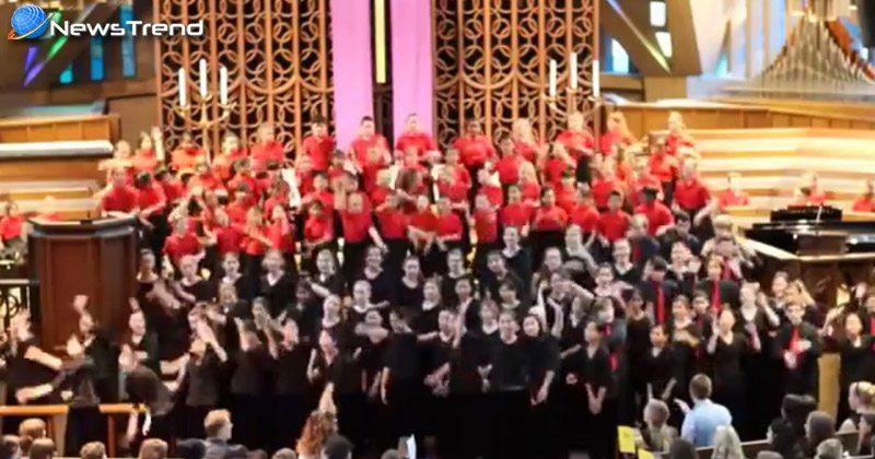 american children singing indian song