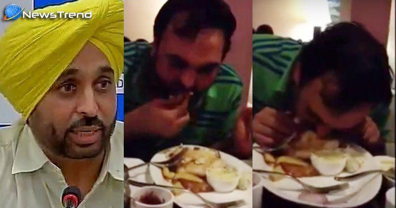 Photo of केजरीवाल की अनोखी नशा मुक्तिः  खुद की पार्टी के सांसद भगवंत मान मिले नशे में टल्ली! – देखें वीडियो