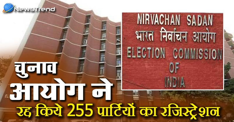 Election commission political parties