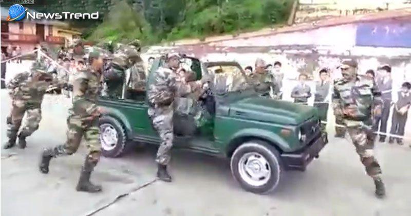 भारतीय सेना का यह कारनामा देखकर आप आश्चर्यचकित हुए बिना नहीं रह सकते हैं.... देखें वीडियो!