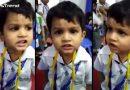 इस छोटे बच्चे की मासूमियत देखकर हँस पड़ेंगे आप, गाया बेहतरीन गाना…. देखें वीडियो!