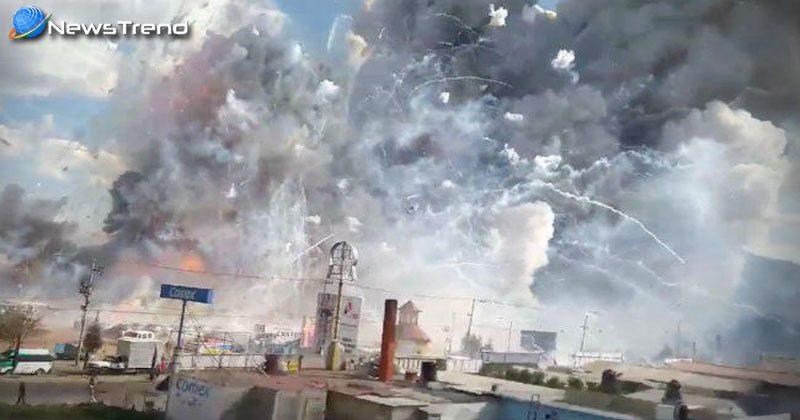 Photo of मैक्सिको के पटाखा बाजार में धमाका, 29 लोगों की मौत