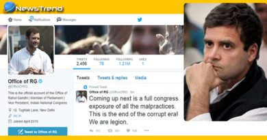 congress officially tweeter account hacked