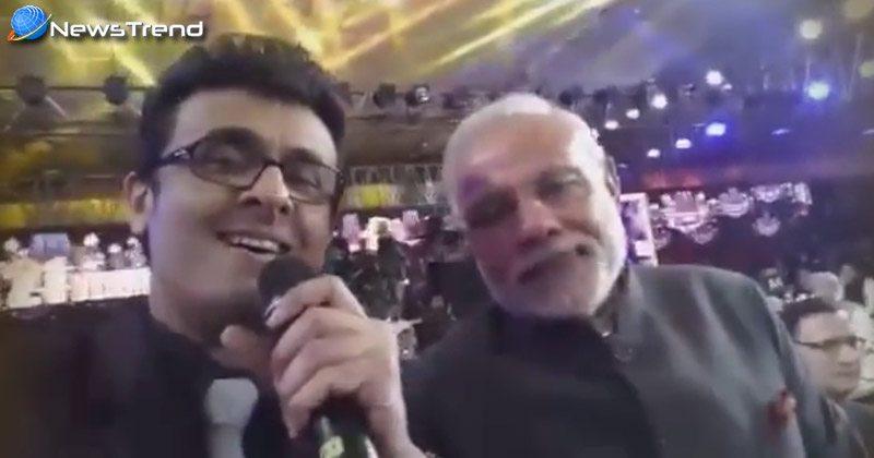 sonu nigam sing song for pm narendra modi