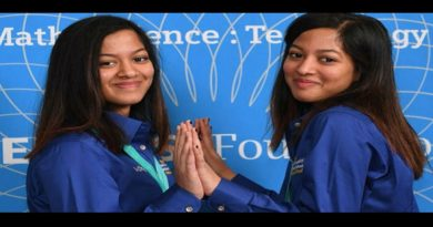 Indian origin girls us science contest