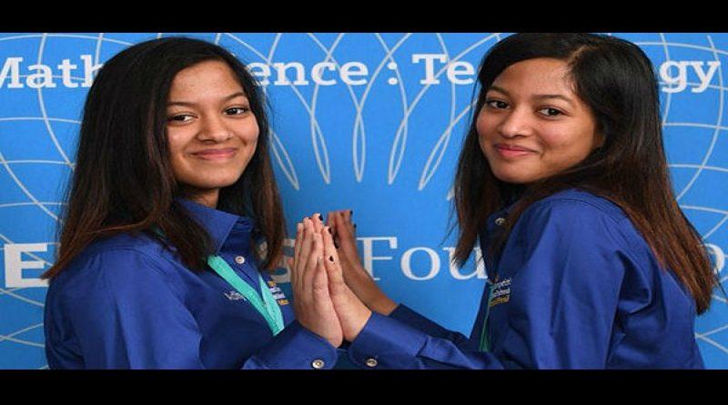 Indian origin girls us science contest