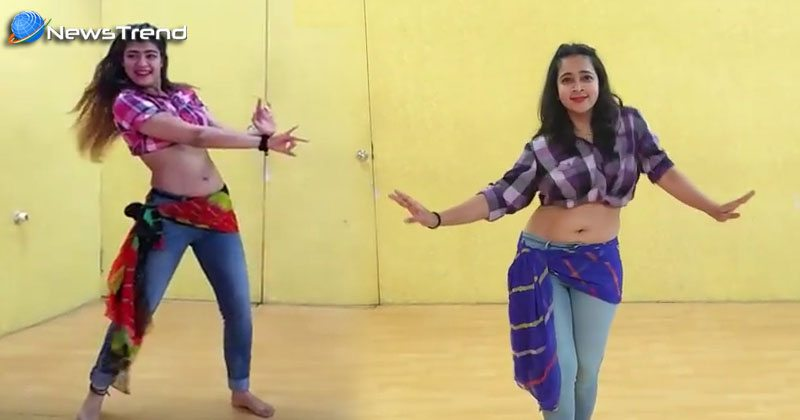 two girl belly fusion dance