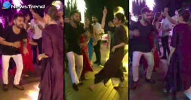 virat and anushka dance