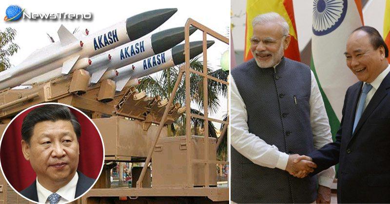 Photo of चीन की नापाक हरकतों का जवाब देने के लिए, वियतनाम को आकाश मिसाइल बेचेगा भारत!
