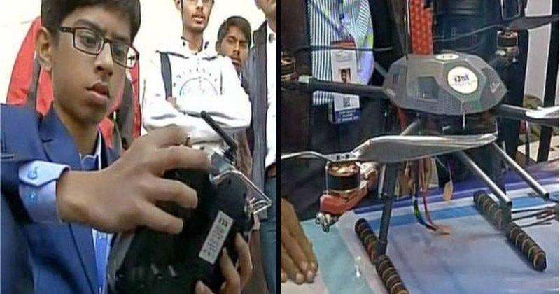 anti landmine drone