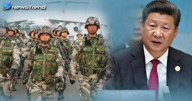 China threatened india