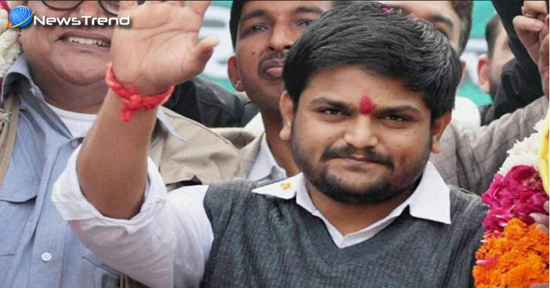 hardik patel come back in gujarat