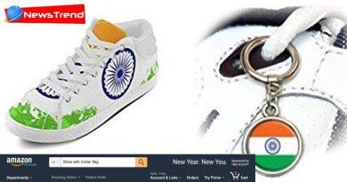 amazon selling indian flage shoes
