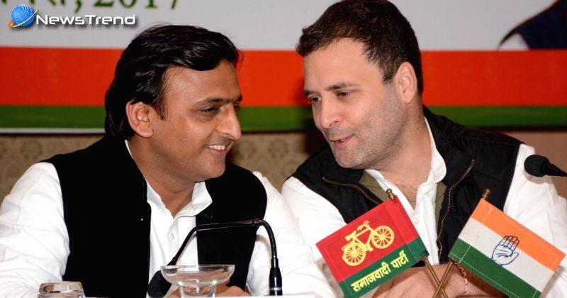Photo of प्रेस कॉन्फ्रेंस में राहुल गांधी की गलतियां को सुधारते रहे अखिलेश!