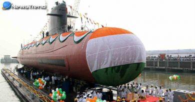Scorpene Class Submarine Khanderi