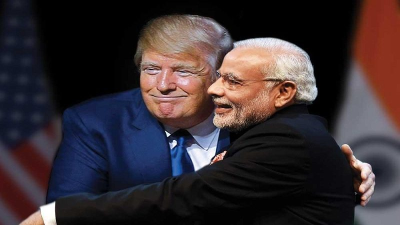 Donald Trump support India