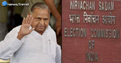 mulayam singh yadav met election commission