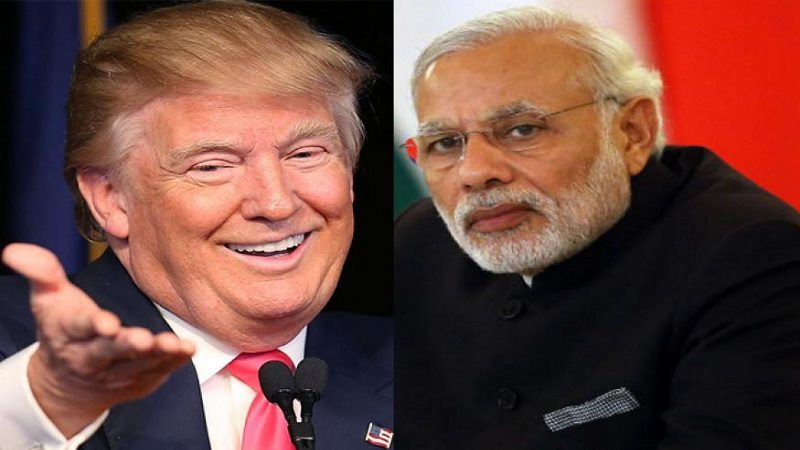 Trump pm modi talk on phone