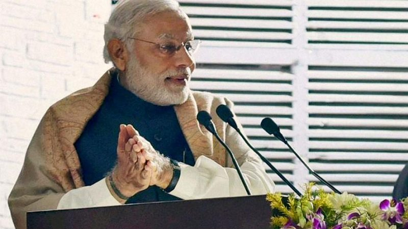 PM Modi on eve of new year