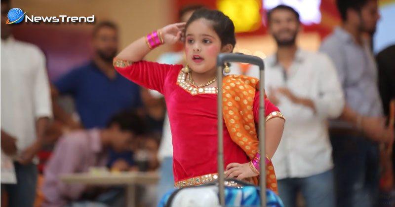 cute girl dance