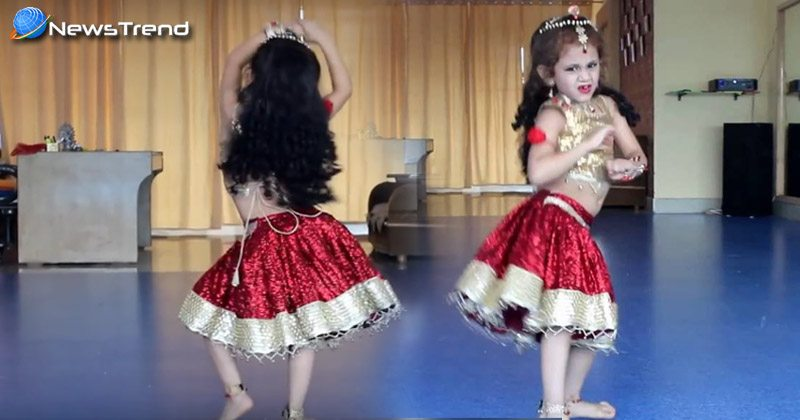 cute girl dance in pritam pyare songs