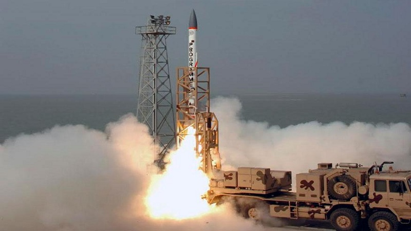 Prithvi defence ballistic interceptor missiles