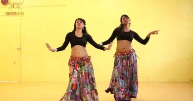 Girls Belly Dance Fusion on Pinga Songs