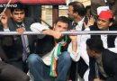 जब बाल-बाल बचे राहुल गांधी और अखिलेश यादव, इलाहाबाद की रैली में टूट गया मंच!
