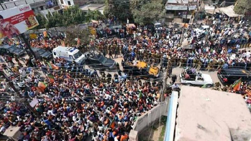 PM Narendra Modi Road Show