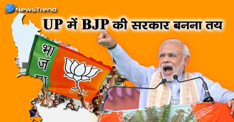Photo of मोदी की दहाड़ के आगे नहीं चला किसी का जादू, यूपी में बीजेपी की सरकार बनना तय!