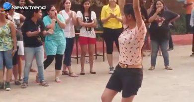 इन लड़कियों का ग्रुप डांस देखकर उड़ जायेंगे आपके होश.... वीडियो वायरल!