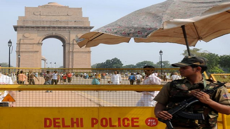 High alert in delhi
