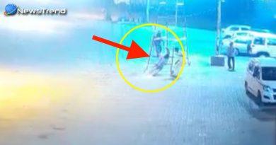करंट लगने से पल भर में राख का ढेर बन गया युवक, वीडियो कर सकता है आपको विचलित!