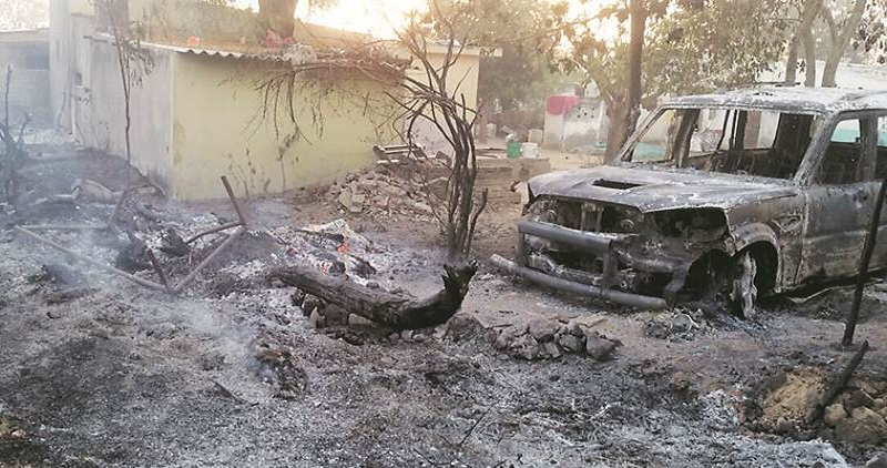 communal clash in Gujarat
