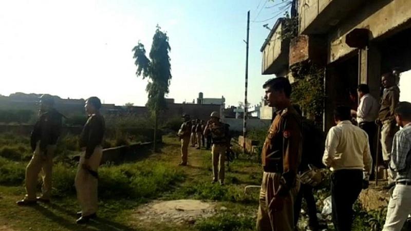 Suspect terrorist in lucknow
