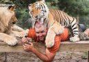 यह व्यक्ति खेलता है शेरों के साथ ऐसे जैसे हो इसके अपने बच्चे, वीडियो देखकर हो जायेंगे हैरान!