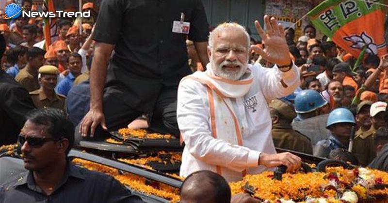 """Photo of पीएम मोदी के इस ऐलान से हिल गई यूपी की सियासत, """"बनेगी पूर्ण बहुमत की सरकार""""!"""