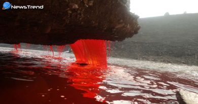 अंटार्टिका के इस ग्लेसियर से आश्चर्यजनक तरीके से निकलता है खूनी पानी, रहस्य जानकर हो जायेंगे हैरान!