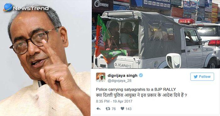 Photo of दिग्विजय सिंह के साथ हो गया 'कांड'! अमरीश पुरी स्टाइल में लोगों ने कहा – 'आओ कभी हवेली पे'