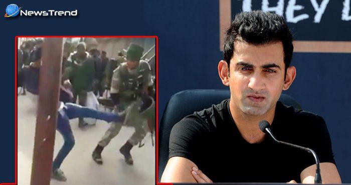 Photo of जवानों से बदसलूकी पर गौतम हुए 'गंभीर', कहा – '1 थप्पड़ के बदले 100 जिहादियों को करो हलाल'