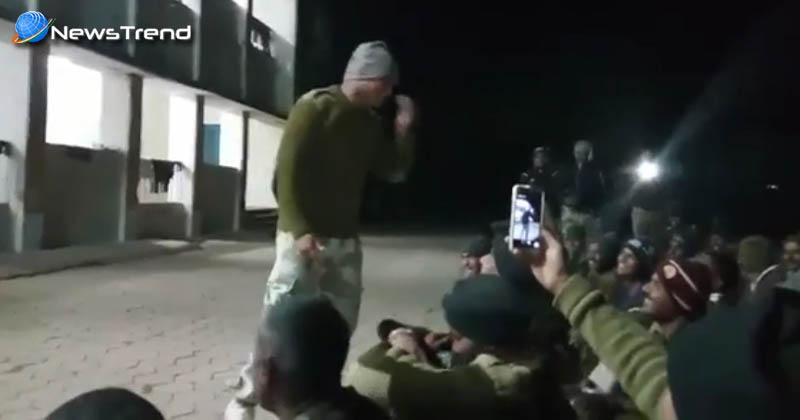 Photo of सिर्फ सीमा की सुरक्षा ही नहीं ये भी करते हैं भारतीय सेना के जवान…. देखें वीडियो!
