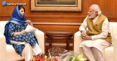 पीएम मोदी से मिली महबूबा कहा, वाजपेयी के रास्ते पर चलकर निकलेगा कश्मीर का हल!