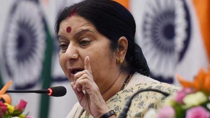 Sushma swaraj warns Pakistan