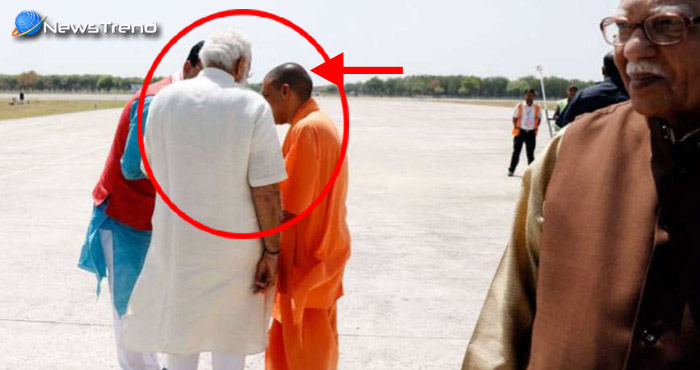 Photo of सीएम योगी' को साइड में ले जाकर पीएम मोदी ने दिया 'गुरुमंत्र' – सोशल मीडिया पर वायरल हुई तस्वीर