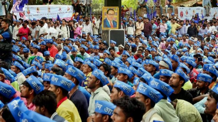 Bhim army protest from delhi