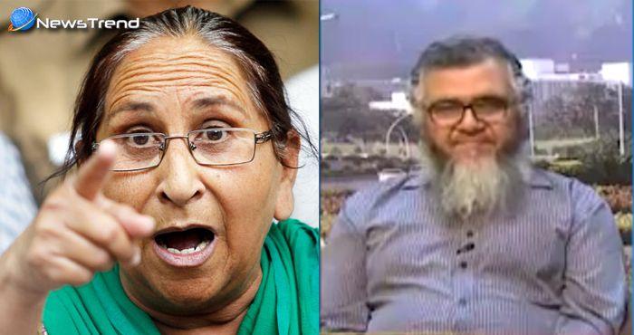 पाकिस्तानी को सरबजीत की बहन ने जमकर धोया, कहा – दम है तो आओ भारत : देखें वीडियो